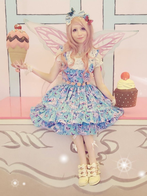 Mew Fairydoll's 「Fairy lolita」themed photo (2018/03/13)