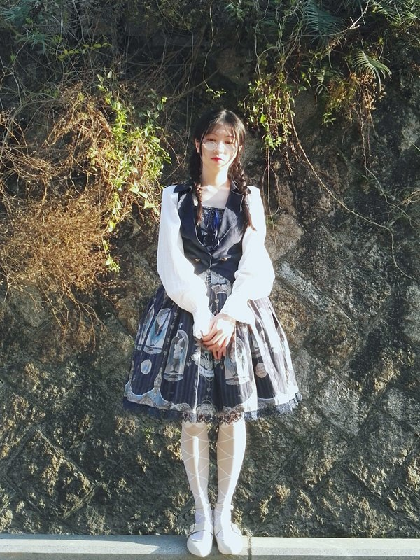 Toto - a lazy llama's 「Lolita」themed photo (2018/03/14)