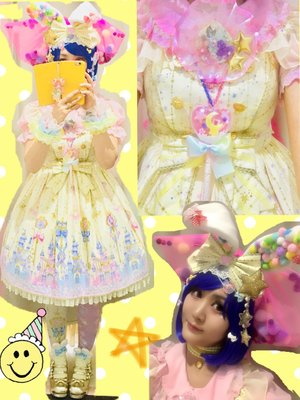 望月まりも☆ハニエルの「Lolita」をテーマにしたファッションです。(2018/03/20)