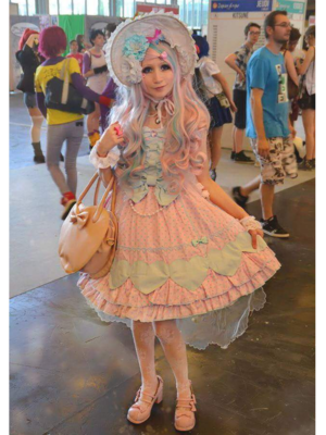 Mew Fairydoll's 「Angelic pretty」themed photo (2018/03/23)