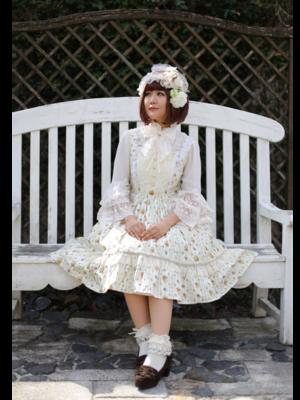 望月まりも☆ハニエルの「Flowers」をテーマにしたコーディネート(2018/03/25)