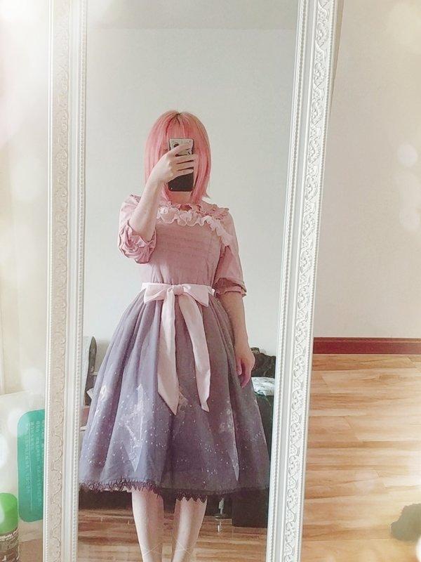 智障玄学少女の「Classic Lolita」をテーマにしたコーディネート(2018/03/28)