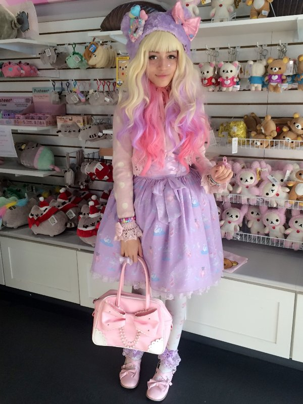 cincopastabear's 「Angelic pretty」themed photo (2016/11/27)