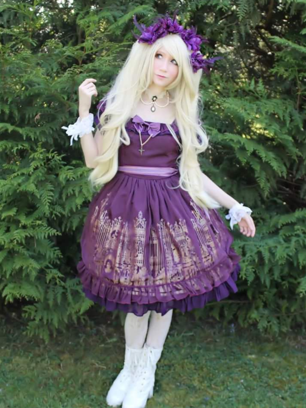 Mew Fairydoll's 「Gothic Lolita」themed photo (2018/03/29)