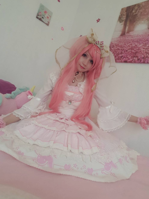 Mew Fairydoll's 「Hime Lolita」themed photo (2018/03/30)