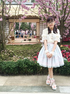 Riipinの「Angelic pretty」をテーマにしたコーディネート(2018/04/01)