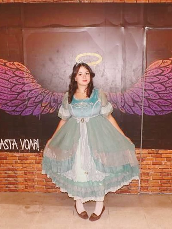 Nanna Azevedo's 「Lolita」themed photo (2018/04/01)