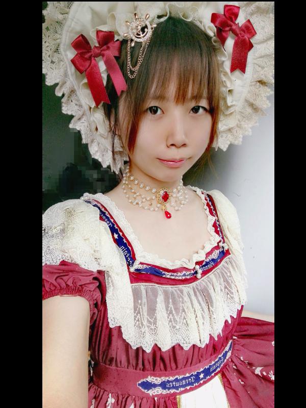 柒実Nanamiの「Red」をテーマにしたコーディネート(2018/04/02)