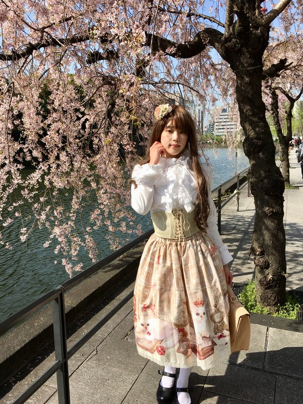 浜野留衣の「Cherry Blossoms」をテーマにしたコーディネート(2018/04/03)