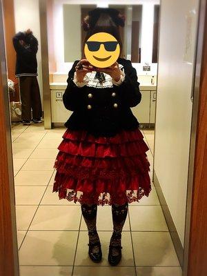望月おせきはんの「Lolita」をテーマにしたコーディネート(2018/04/07)