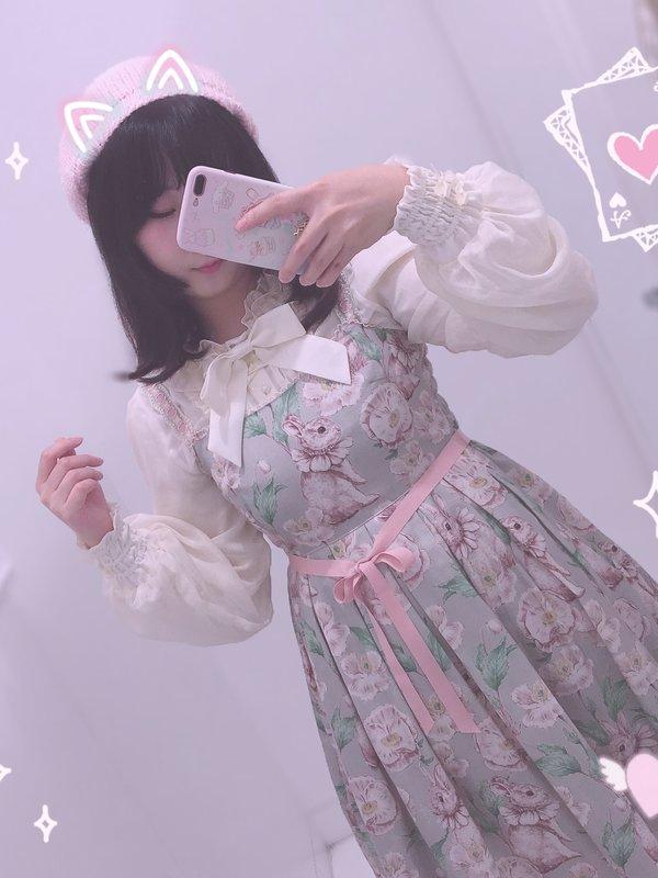 Senaの「Lolita」をテーマにしたコーディネート(2018/04/07)