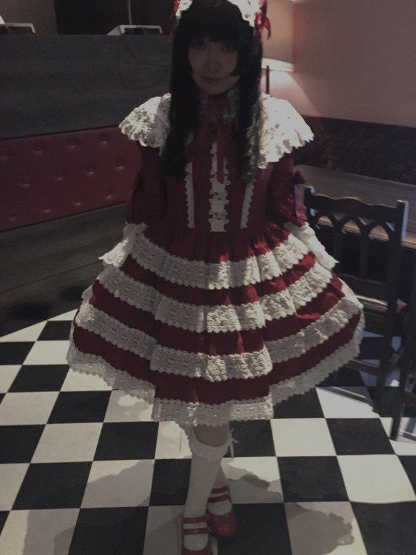 はむかの「Lolita」をテーマにしたコーディネート(2018/04/08)