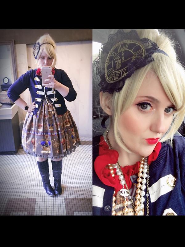 Luluの「Lolita fashion」をテーマにしたコーディネート(2018/04/09)