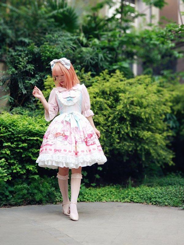 是智障玄学少女以「Sweet lolita」为主题投稿的照片(2018/04/10)