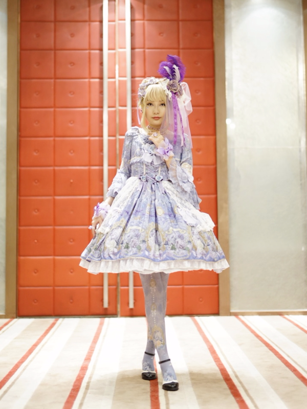 HEAVEN's 「Lolita fashion」themed photo (2018/04/10)