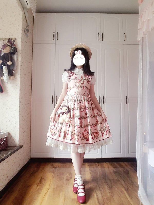 糖心雷阵雨の「Lolita」をテーマにしたコーディネート(2018/04/12)