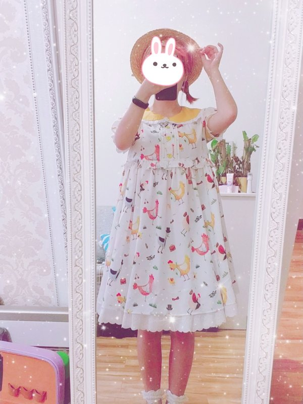 智障玄学少女's 「Sweet lolita」themed photo (2018/04/12)