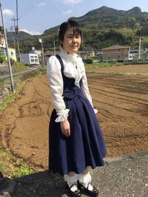 彰の「Classical Lolita」をテーマにしたコーディネート(2018/04/12)