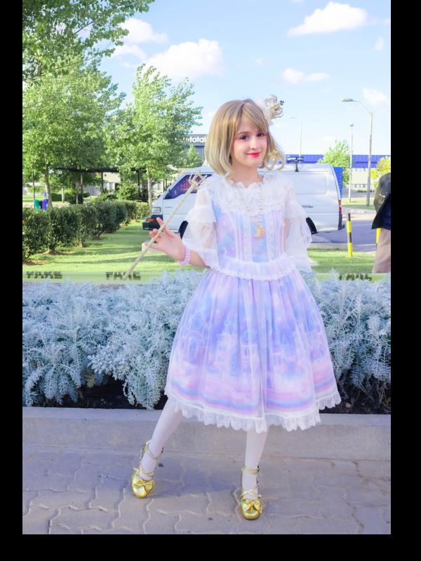Lulaの「Lolita fashion」をテーマにしたコーディネート(2018/04/13)