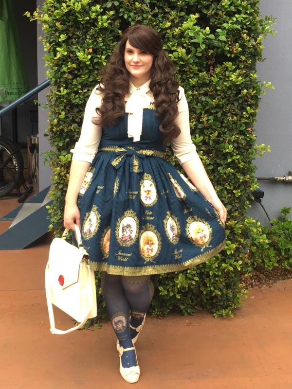 Redlilliumの「Lolita fashion」をテーマにしたコーディネート(2018/04/14)