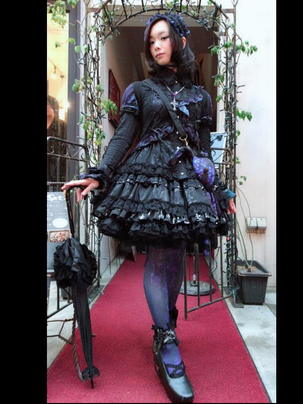 是ゆずぽむ以「Gothic Lolita」为主题投稿的照片(2018/04/15)