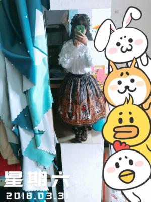 吃荤的兔子RT's 「Ribbon」themed photo (2018/04/16)