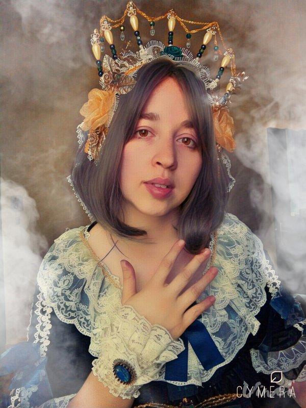 @Nanami_pyの「Lolita」をテーマにしたコーディネート(2018/04/18)