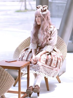 Aricy Mist 艾莉鵝's 「Lolita」themed photo (2018/04/18)