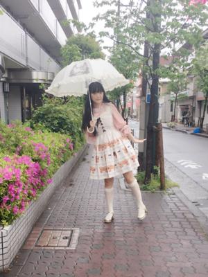 舞の「Umbrella」をテーマにしたコーディネート(2018/04/18)