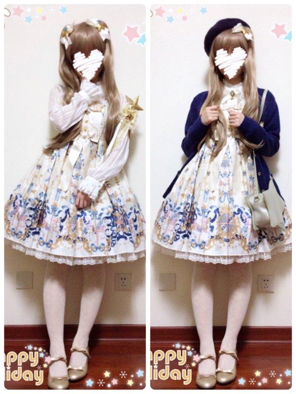 Aoi's 「Angelic pretty」themed photo (2016/12/24)