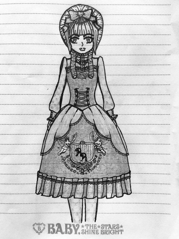 Anna Mariaの「Gothic」をテーマにしたコーディネート(2018/04/25)