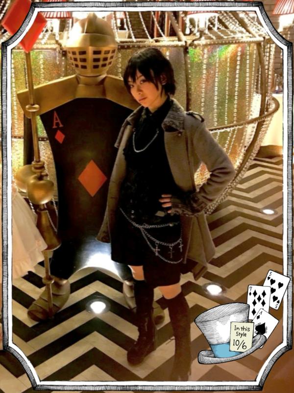 ゆずぽむの「h.naoto」をテーマにしたコーディネート(2018/04/26)