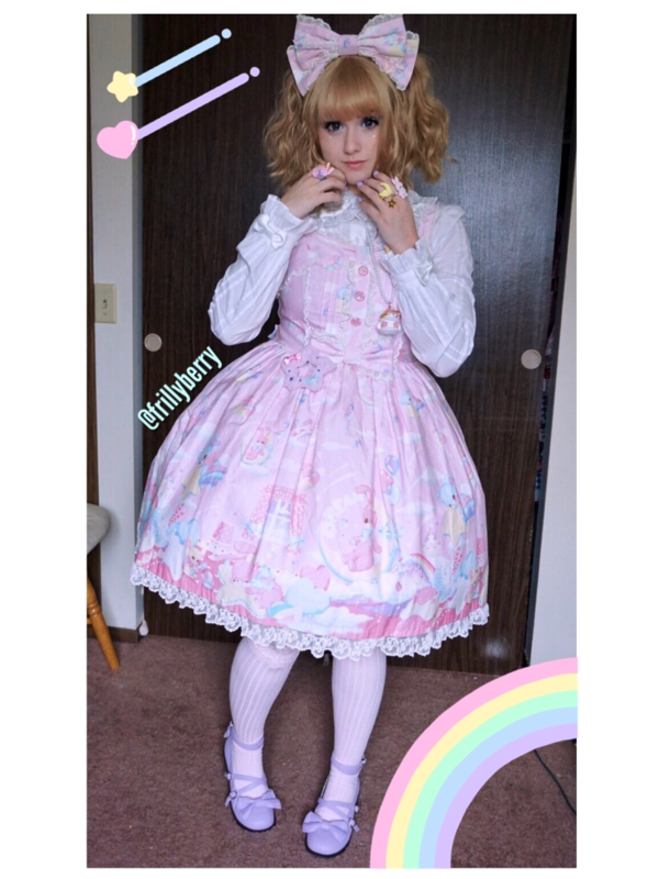 Pixy's 「Angelic pretty」themed photo (2018/04/26)