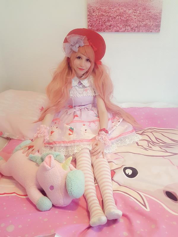 Mew Fairydoll's 「Sweet lolita」themed photo (2018/04/27)