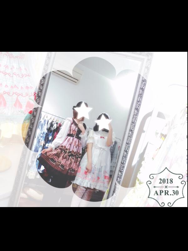 Sui 's 「Lolita」themed photo (2018/04/30)