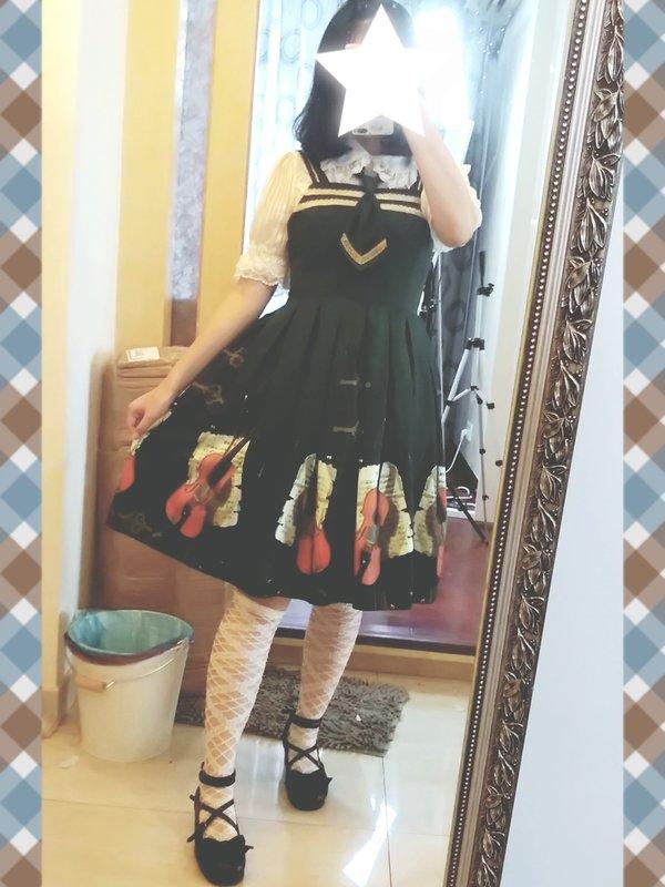 Sui 's 「Lolita fashion」themed photo (2018/04/30)