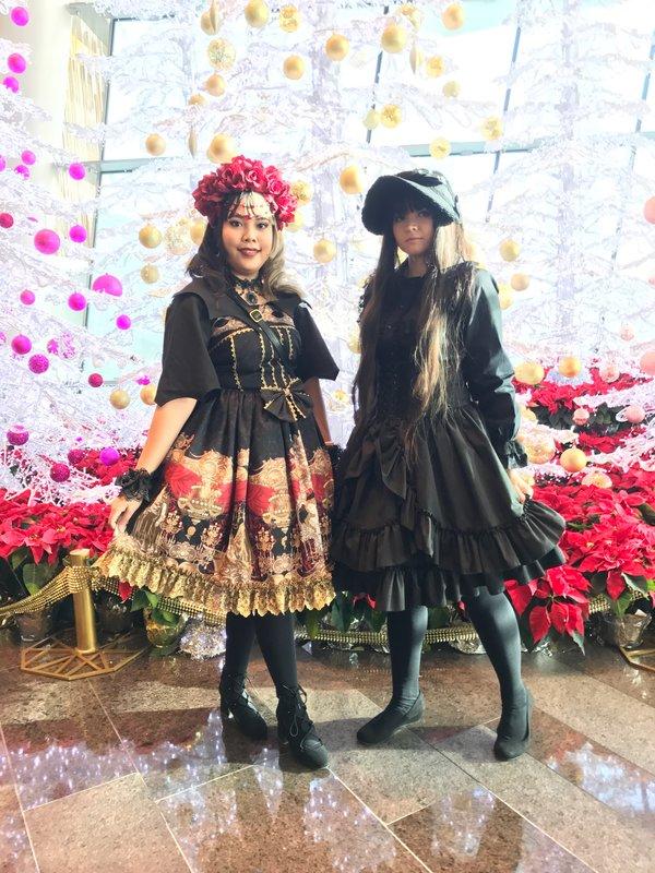 doitforthefrill の「Gothic Lolita」をテーマにしたコーディネート(2016/12/31)
