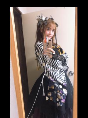 喝酒玩鸟笑醉狂の「Lolita」をテーマにしたコーディネート(2018/05/03)