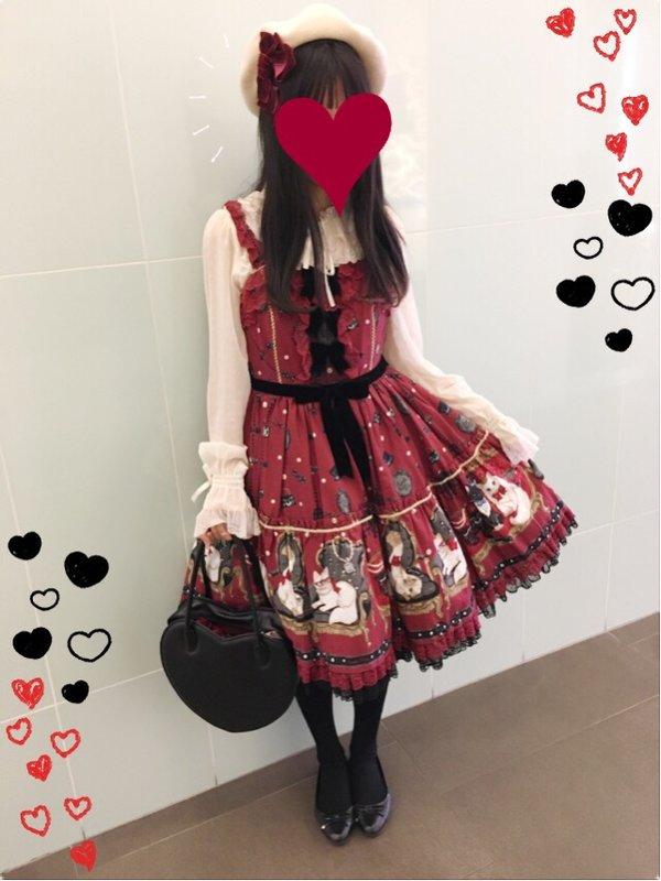 Kuroeko's 「Angelic pretty」themed photo (2017/01/03)