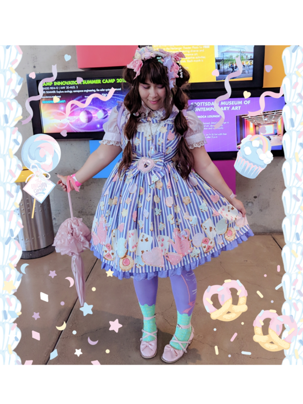 Happy_Tomatoの「Sweet lolita」をテーマにしたコーディネート(2018/05/15)