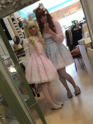 Rikki Rachel's 「Angelic pretty」themed photo (2017/01/10)