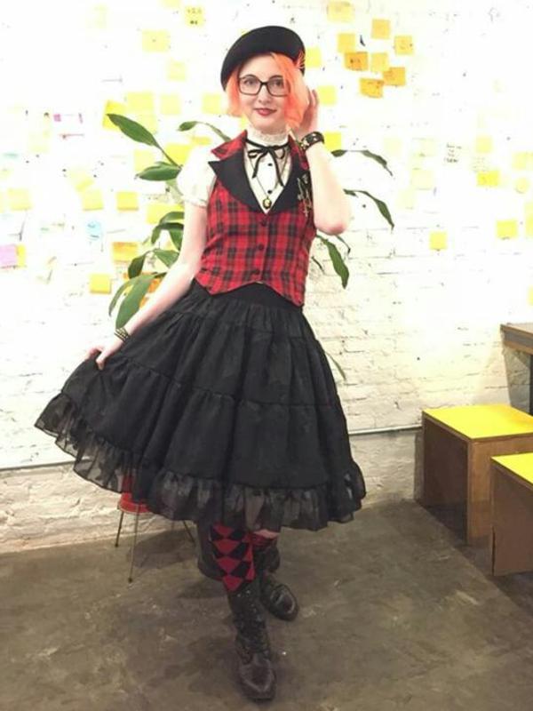 Annah Helの「Punk Lolita」をテーマにしたコーディネート(2018/05/17)
