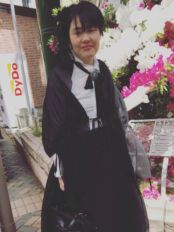 彰の「Gothic Lolita」をテーマにしたコーディネート(2018/05/17)