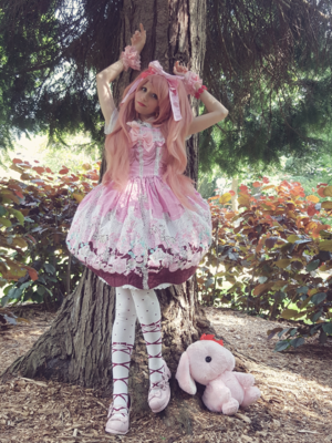 Mew Fairydoll's 「Sweet lolita」themed photo (2018/05/25)