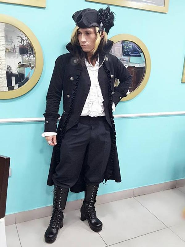 Lestat's 「Lolita」themed photo (2018/05/27)