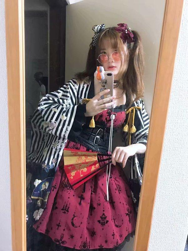喝酒玩鸟笑醉狂の「Lolita」をテーマにしたコーディネート(2018/05/27)