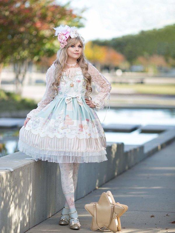 Makaの「Lolita fashion」をテーマにしたコーディネート(2018/05/29)