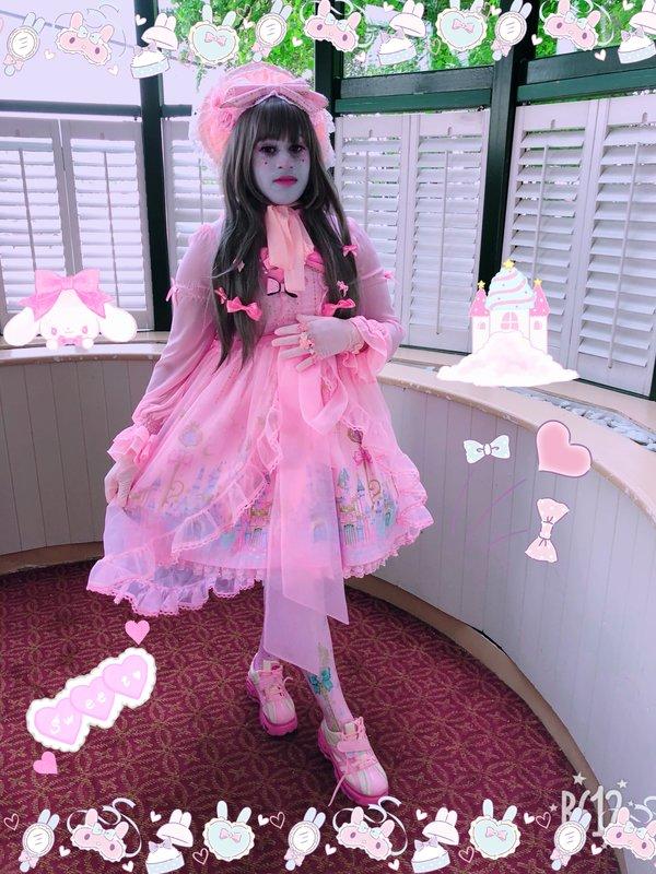 Marina の「Angelic pretty」をテーマにしたコーディネート(2018/06/01)