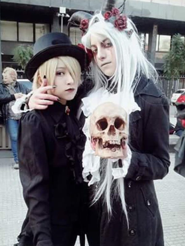 Frederick Lord's 「Gothic」themed photo (2018/06/02)