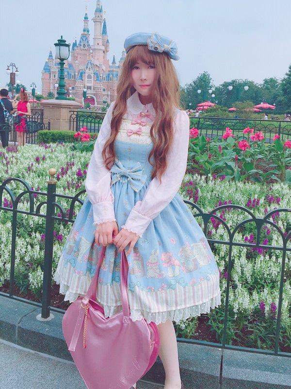 平行福音の「Lolita」をテーマにしたコーディネート(2018/06/08)